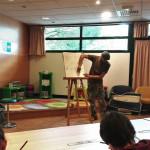 Atelier de dessin manga par Stéphane Bouillet : dans la médiathèque