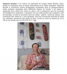 Ouverture du studio atelier galerie ReMedAct, à Oloron Sainte Marie: Graphisme, illustration, Webdesign, Photographie...